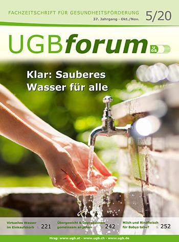 UGBforum Trinkwasser