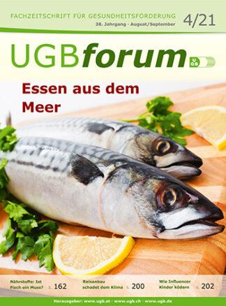 UGBforum: Essen aus dem Meer